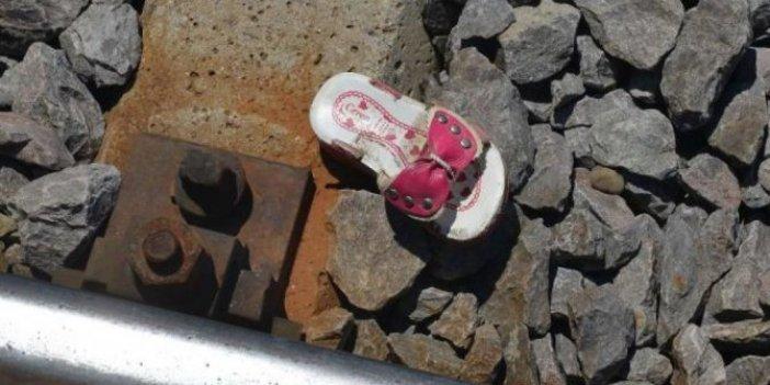 4 yaşındaki küçük kız trenin altında kaldı