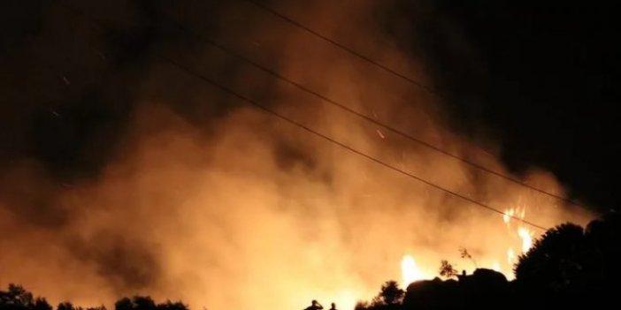 Marmara Adası'ndaki yangında 2 tutuklama