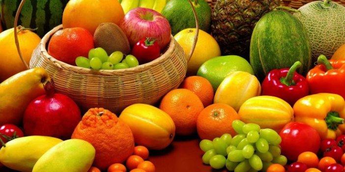"""""""Meyve ve sebzeleri kabuğunu soyarak tüketin"""""""