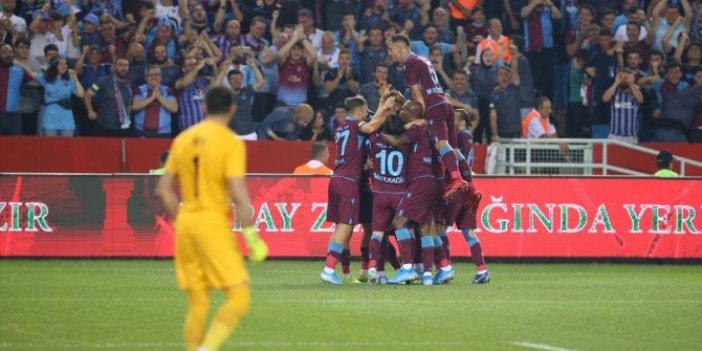 Trabzonspor-Sparta Prag 2-1 (Maç özeti)