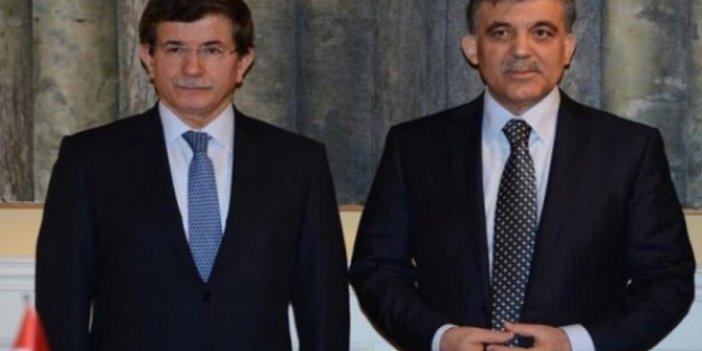 AKP'den Gül ve Davutoğlu'na tepki