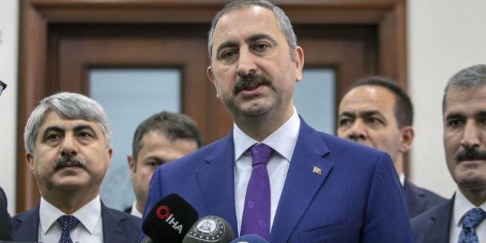Gaspçıların serbest bırakılması tepki çekmişti: Adalet Bakanı Abdülhamit Gül'den açıklama geldi!