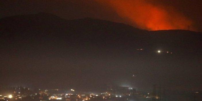 İsrail İran'a Şam'da saldırdı