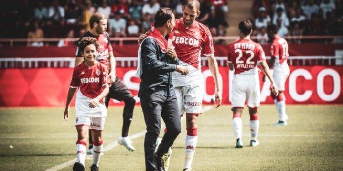 Slimani Monaco'da ilk maçında gol attı!