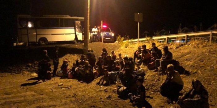 Balıkesir'de 137 kaçak göçmen yakalandı