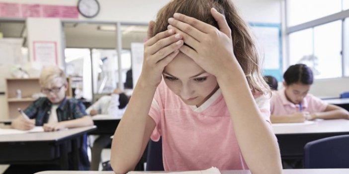 Öğrencileri sınavdan çok aileler strese sokuyor!