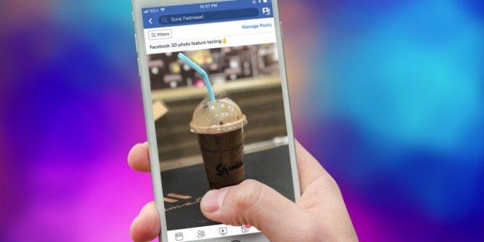 Facebook'un Android sürümüne '3D Fotoğraflar' özelliği