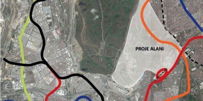Esenler'de 720 hektar alan betonlaştırılacak!