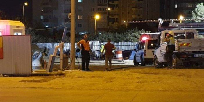 İzmir Narlıdere'de metro inşaatında kaza: 1 işçi öldü