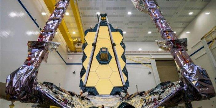 James Webb uzay teleskobu birleştirildi