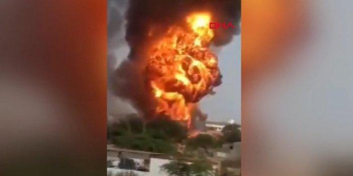 Hindistan'da kimya fabrikasında yangın: 10 ölü