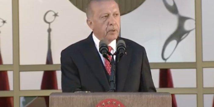 Erdoğan'dan güvenli bölge çıkışı
