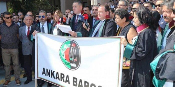 """Saray'a gitmeyen Ankara Barosu: """"Kuvvetler ayrılığı yok edildi"""""""