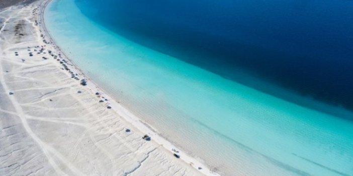 Salda Gölü kıyısına ÇED raporu olmadan maden izni iddiası