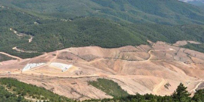 Kaz Dağları'nda altın aramak için 11 bin ton siyanür kullanılacak!