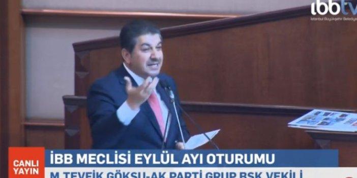 AKP'li Göksu israf sergisi için 'tiyatro' dedi