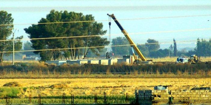 ABD'nin zırhlı kuleleri YPG'nin tünellerine yerleştiriliyor!