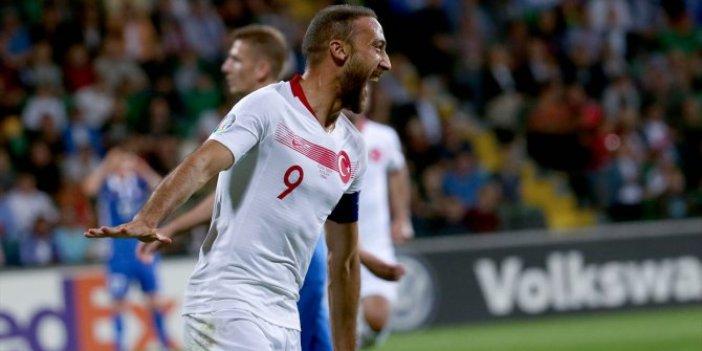 Moldova - Türkiye 0-4 (Maç özeti)