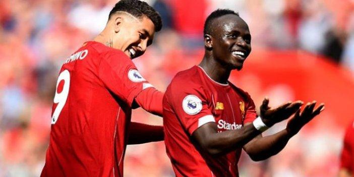 Liverpool rahat kazandı, Mane tarihe geçti!