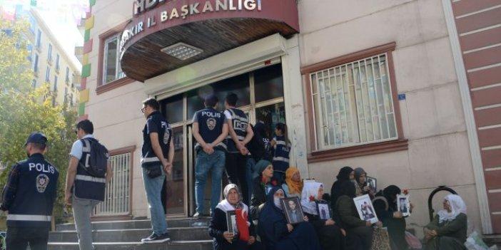 HDP önündeki eylemde 17'nci gün; aile sayısı 43 oldu