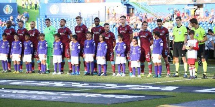 Getafe-Trabzonspor 1-0 (Maç Özeti)