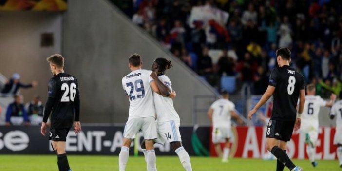 Slovan Bratislava-Beşiktaş 4-2 (Maç özeti)