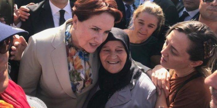 Meral Akşener Üsküdar ve Beşiktaş'ta vatandaşla buluştu