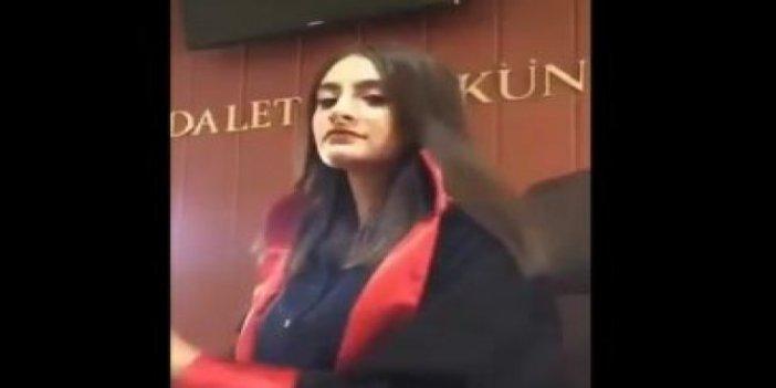 Mahkeme salonundaki TikTok videosuna açıklama
