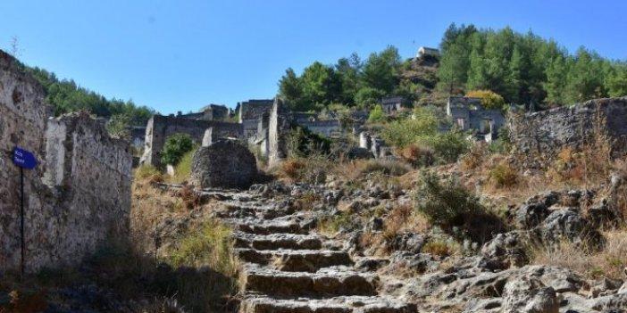 Tarihi Kayaköy'ü 'Gladyatör-2' filminin heyecanı sardı