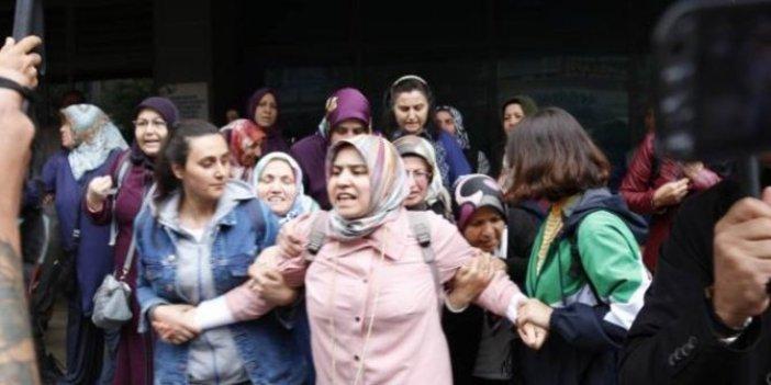 'Harbiyeli Anneler'e gözaltı