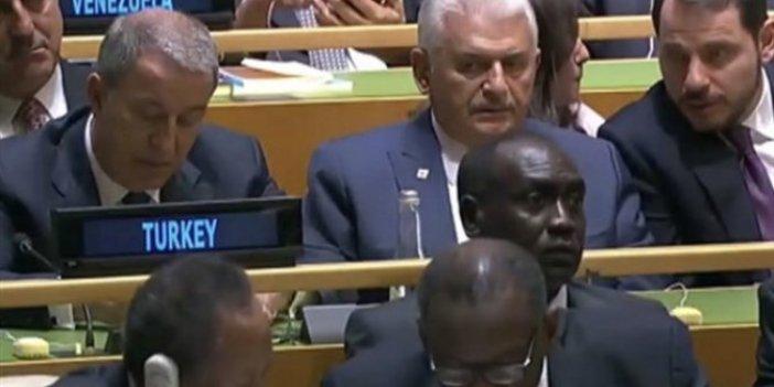 Binali Yıldırım hangi görevle BM Genel Kurulu'nda?
