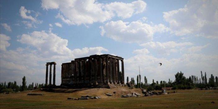 Roma hamamı kalıntıları gün yüzüne çıkarıldı