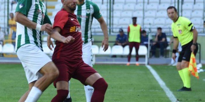 Konyaspor-Kayserispor maçında ortalık karıştı