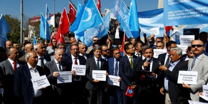 """""""Doğu Türkistan'ın çığlığını bütün dünya duymalıdır"""""""