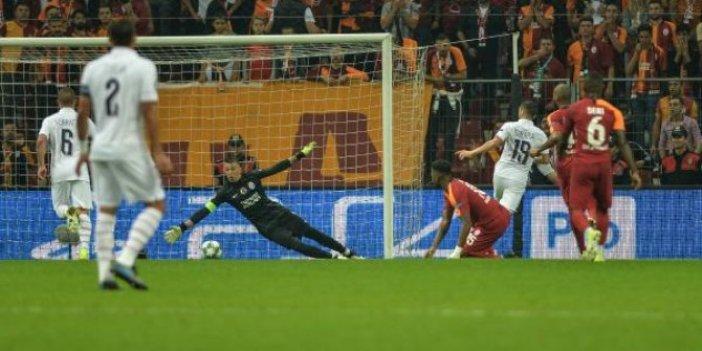 Galatasaray - PSG 0-1 (Maç özeti)