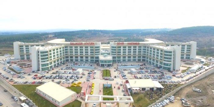 Bir şehir hastanesi daha fay hattına yapılmış!
