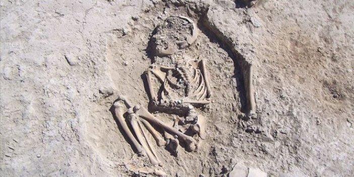 5700 yıllık çocuk iskeleti bulundu