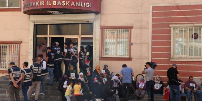 HDP önündeki eylemde aile sayısı 53 oldu