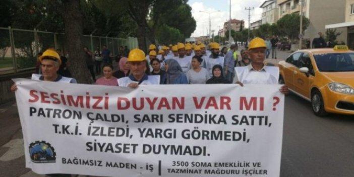 Somalı madencilerin Ankara'ya yürüyüşü başladı