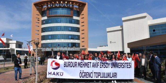MAKÜ'de öğretim görevlisinin kız öğrencileri taciz ettiği iddiası