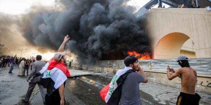 Irak'ta gösterilerin ardından Bağdat Valisi görevden alındı
