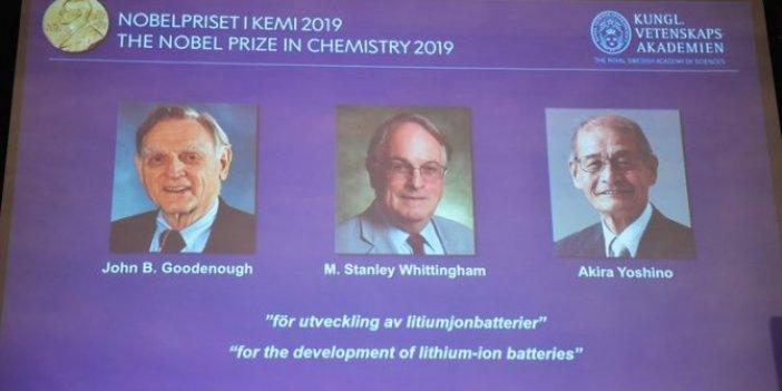 2019 Nobel Kimya Ödülü de sahibini buldu