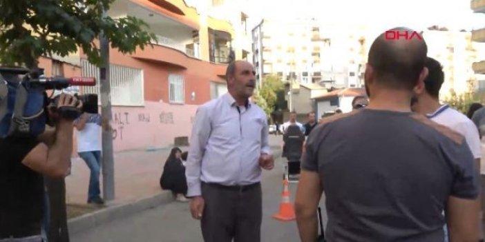 HDP binası önünde Barış Pınarı hareketliliği