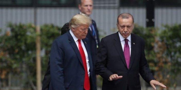 Erdoğan, Trump'ın mesajları için ilk kez konuştu