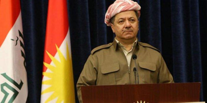 Barzani'den YPG'ye destek!