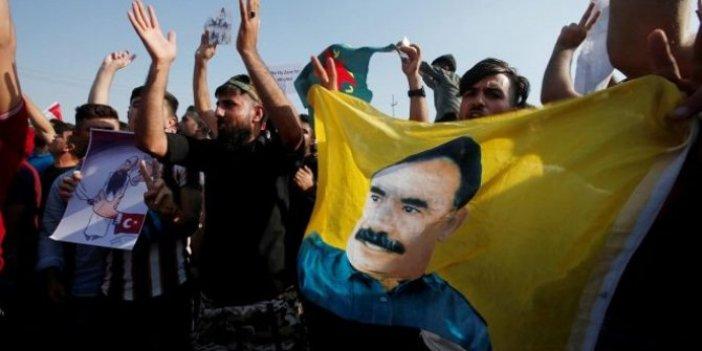 Erbil'de Türk bayrağını ateşe verdiler