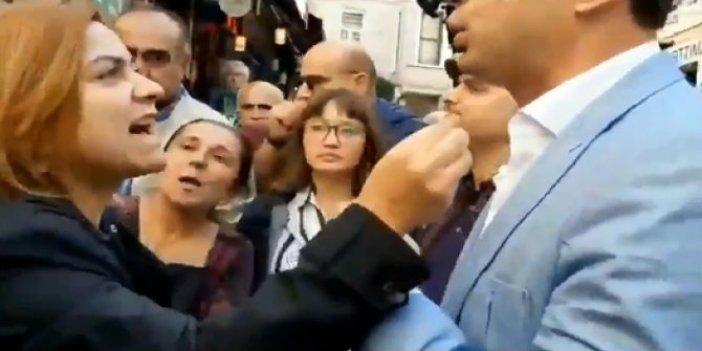 HDP'li Gülistan Koçyiğit'ten polis amirine tahrik girişimi