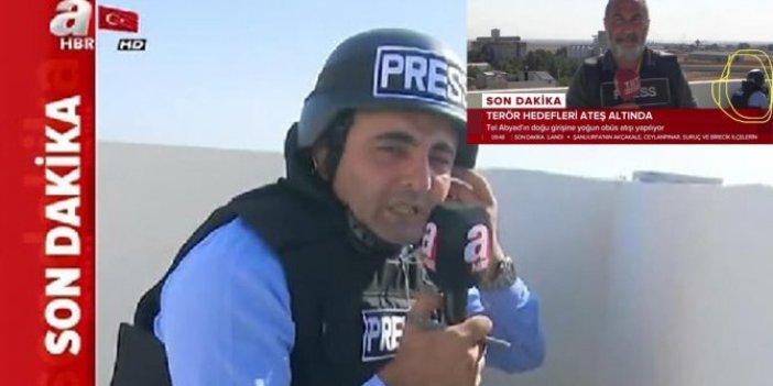 A Haber'in foyasını TRT muhabiri ortaya çıkardı