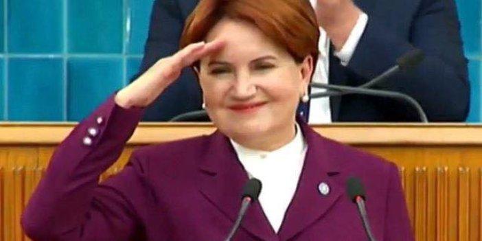 Meral Akşener'den asker selamı!