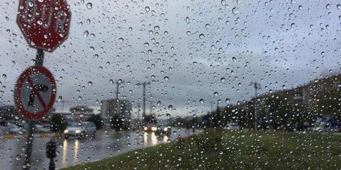 Meteoroloji'den 6 il için yağış uyarısı